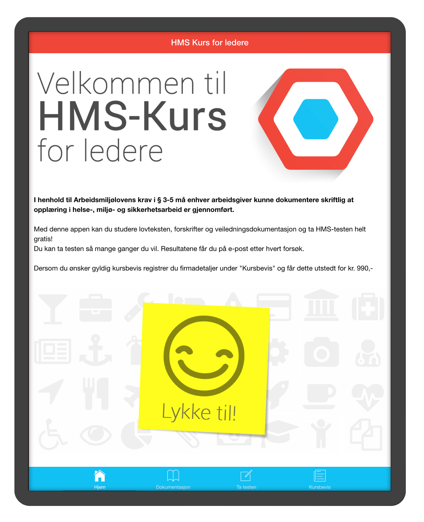 hms kurs online